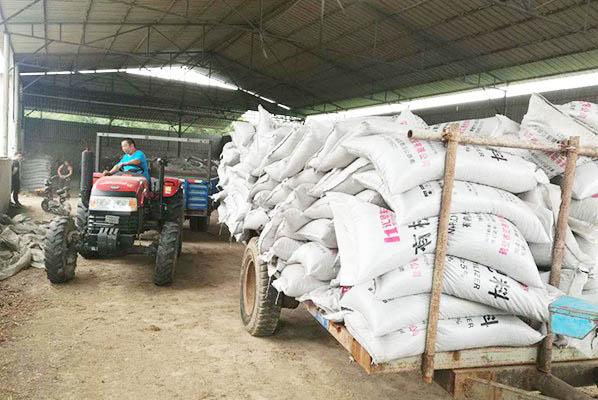 河南焦作有机肥发货进行中
