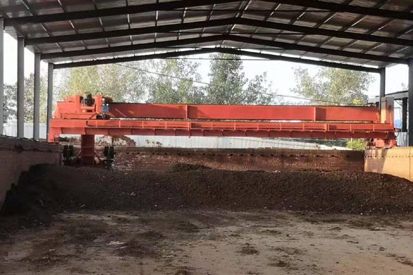 20米大跨度轮盘槽式翻抛机用途和特点