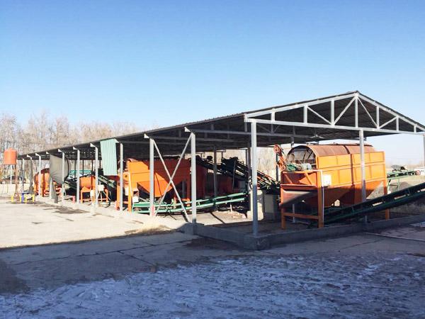 年产3万吨鸡粪有机肥生产线设备配置与原料